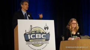 Chris Conrad with Debby Goldsberry at the ICBC conference, San Francisco 2016