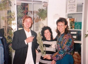 Opening of the redesigned Hash, Marihuana and Hemp Museum in Amsterdam, with Ben Dronkers, October 1993