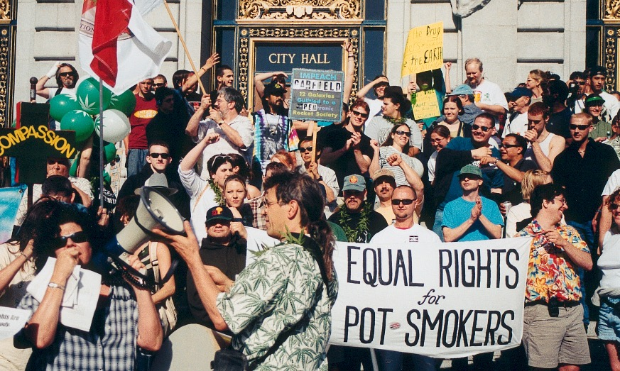 pot pride mmm million marijuana march San Francisco 2001